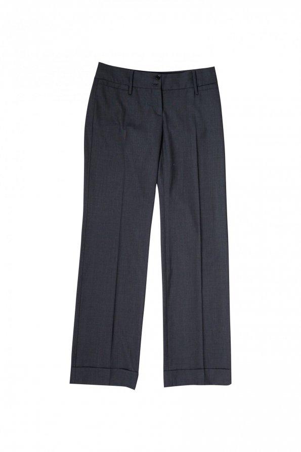 מכנסיים אפורים רחבי רגליים מבית DOLCE & GABBANA 1