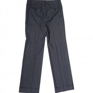 מכנסיים אפורים רחבי רגליים מבית DOLCE & GABBANA 3