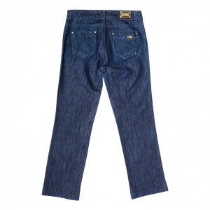 מכנסי ג׳ינס כחולים כהים בגזרה ישרה - Armani 3