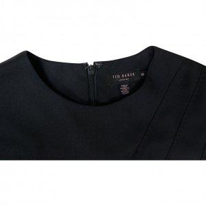 שמלה שחורה מחויטת - Ted Baker 2