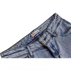 סקיני ג׳ינס levis 473 תכלת משופשף 4