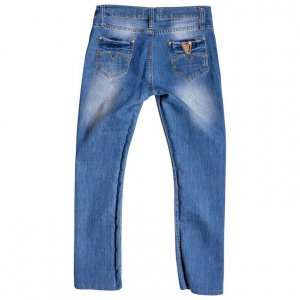 מכנס ג׳ינס תכלת - Versace 2