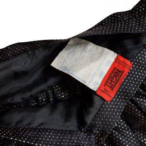 חצאית מקסי שחורה נקודות זהב - Valentino 5