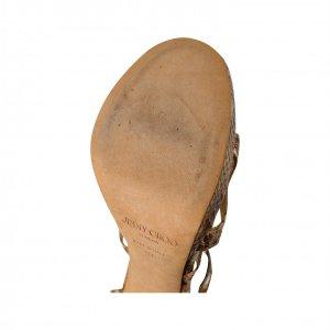 נעלי עקב נחש עקב זהב - JIMMY CHOO 2