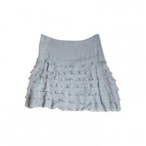 חצאית משי שכבות אפור תכלת - STELLA McARTNEY 2