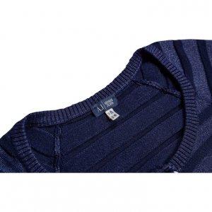 קרדיגן כפתור קצר מכחול מנצנץ - Armani 3