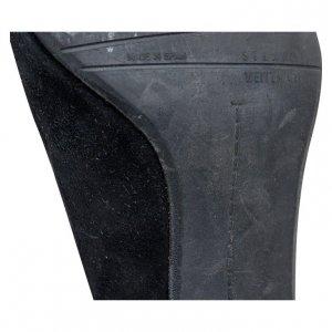 נעלי עקב שחורות עם אבזם - Stuart Weitzman 4