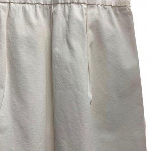 חצאית ארוכה בד ג׳ינס לבנה - COS 4