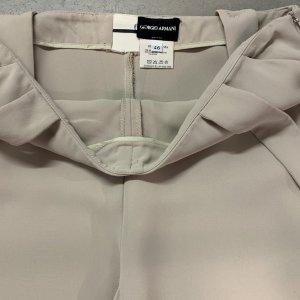 מכנס שמנת עם שלייקס - GIORGIO ARMANI 4