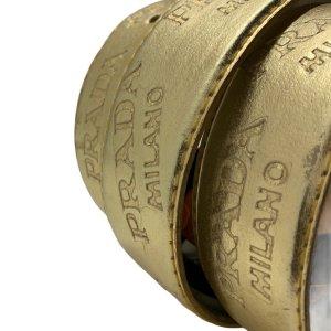 חגורה זהב prada 7