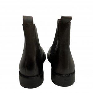 מגפיים נמוכים, עור חום כהה עם גומי בצדדים - SALAMANDER 5