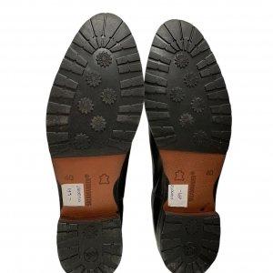 מגפיים נמוכים, עור חום כהה עם גומי בצדדים - SALAMANDER 6