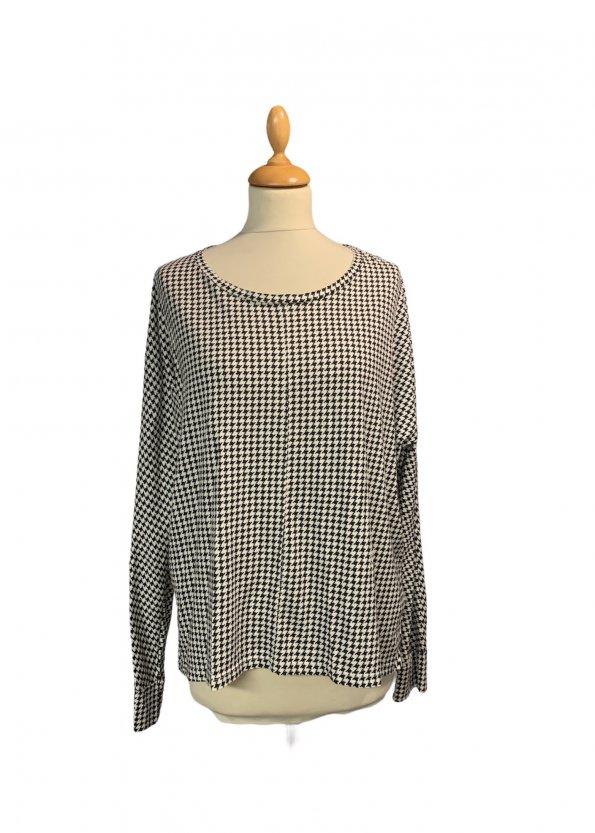 חולצת טריקו שרוול ארוך הדפס פפיטה - AMERICAN VINTAGE 1
