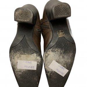 מגפיים עור חום - MIU MIU 6