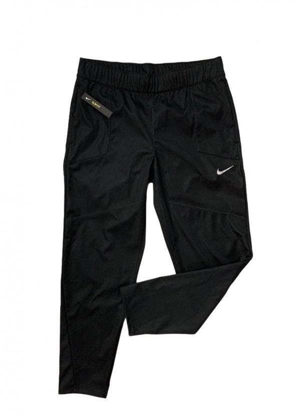 מכנסיי ספורט שחורים עם סמל קטן - NIKE 1