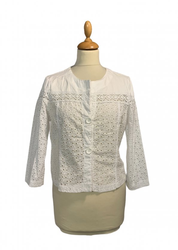 חולצת תחרה לבנה - ICONS 1