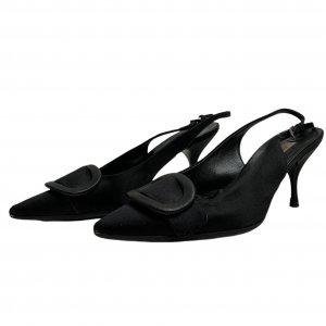 נעלי עקב שחורות - PRADA 2