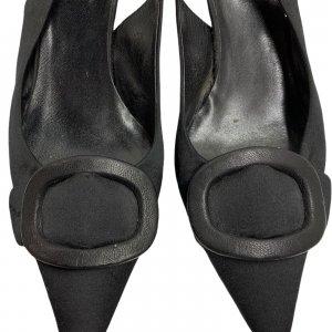 נעלי עקב שחורות - PRADA 6