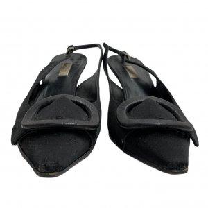נעלי עקב שחורות - PRADA 5