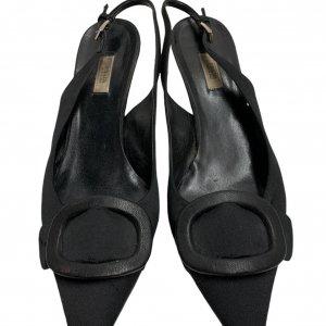 נעלי עקב שחורות - PRADA 4