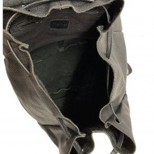 תיק גב עור שחור - ASOS 5