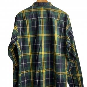 חולצה מכופתרת משבצות ירוק צהוב - FRED PERRY 2