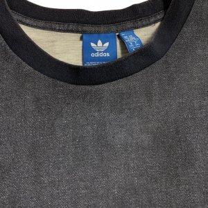 טי שירט אפורה גדולה  - adidas 3