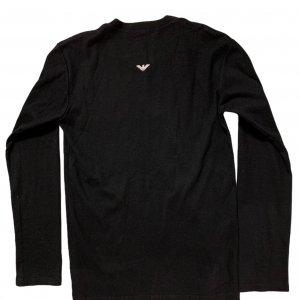 חולצת טריקו שחורה, שרוול ארוך - ARMANI 2