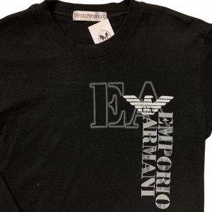 חולצת טריקו שחורה, שרוול ארוך - ARMANI 3