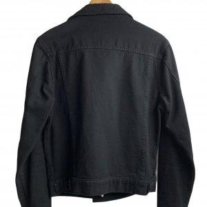 ג׳קט ג׳ינס שחור לגבר - AMERICAN APPAREL 2