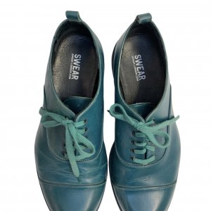 נעלי אוקספורד בצבע ירוק בקבוק - SWEAR 5