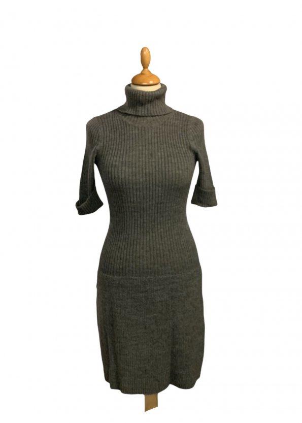 שמלת מיני סריג וגולף - CLUB MONACO 1