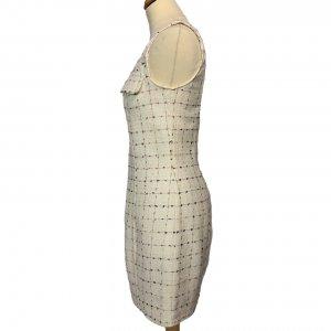 שמלת  שמנת תיפורים צבעוניים - OODJI 3