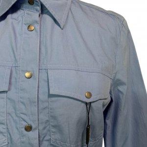 חולצה מכופתרת תכלת כהה - GIANFRANCO FERRE 5