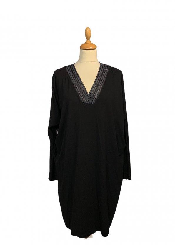 שמלה שחורה פתח - NORTHERN STAR 1