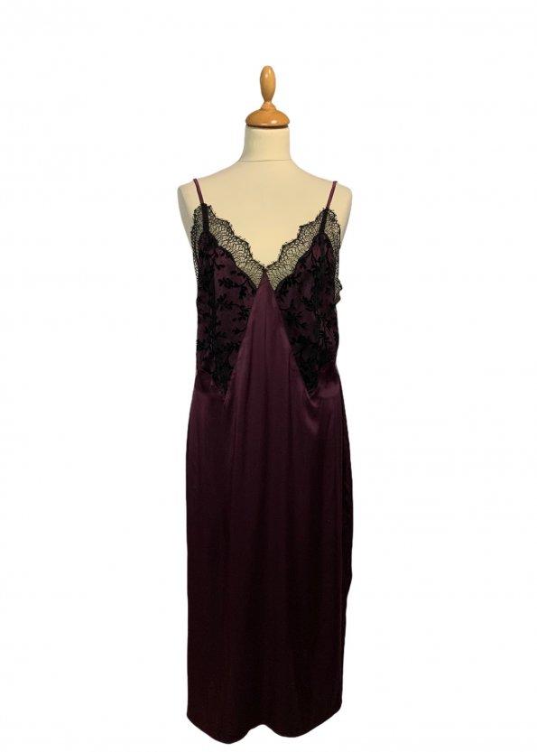 שמלת קומבניזון סגול - PETIT POIS 1