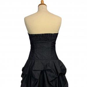 שמלה סטרפלס ג׳ינס שכבות - WARE DENIM 2