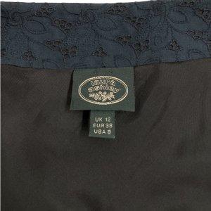 חצאית תחרה כחול כהה - LAURA ASHLEY 4