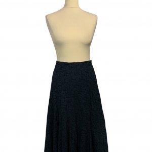 חצאית תחרה כחול כהה - LAURA ASHLEY 3