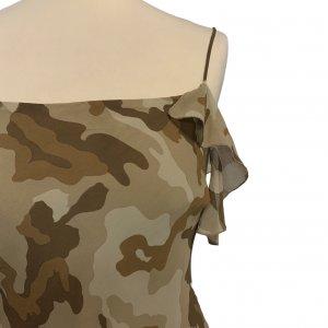 שמלת שיפון מקסי צבאית 4