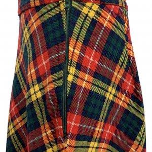 חצאית מקסי משבצות סקוטי - וינטג׳ 3