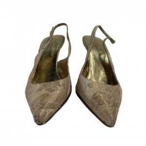 נעלי עקב ורוד פודרה - Dolce & Gabbana 3