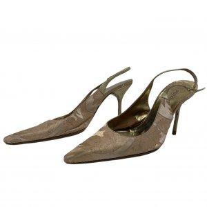 נעלי עקב ורוד פודרה - Dolce & Gabbana 2