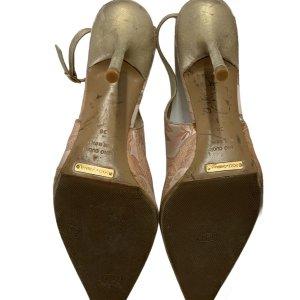 נעלי עקב ורוד פודרה - Dolce & Gabbana 4