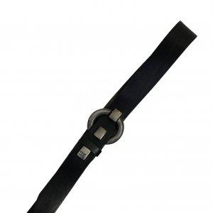 חגורת עור שחור - COP.COPINE 2