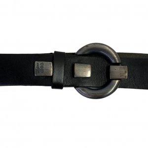 חגורת עור שחור - COP.COPINE 3
