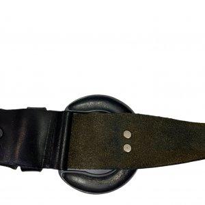 חגורת עור שחור - COP.COPINE 4
