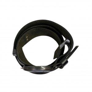 חגורת עור שחור - COP.COPINE 6