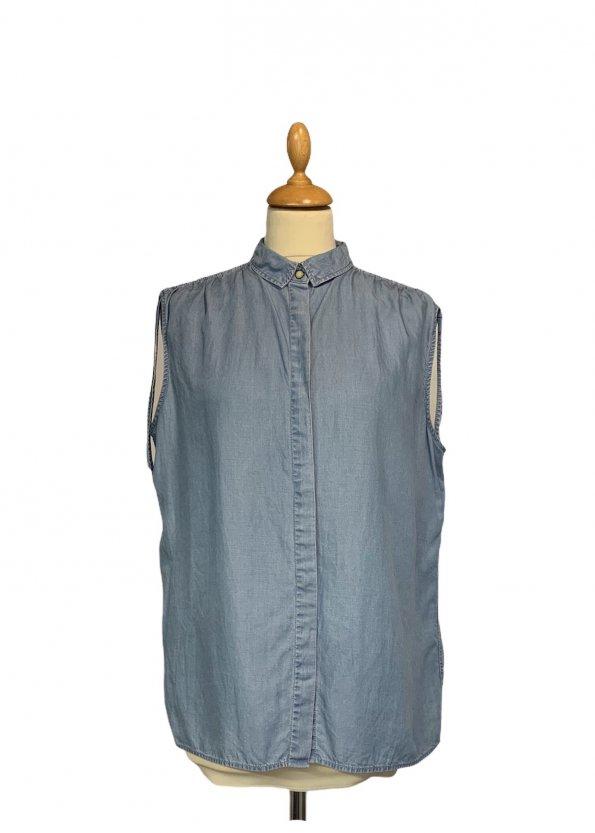 חולצת ג׳ינס ללא שרווך - ALL SAINTS 1