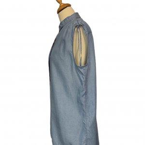 חולצת ג׳ינס ללא שרווך - ALL SAINTS 3